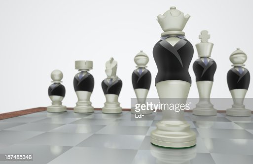 Queen of Strategy : Stockfoto