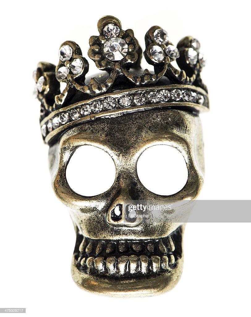 Queen Size Bett Oder King Size Bett Mit Kopfteil Mit Totenkopf