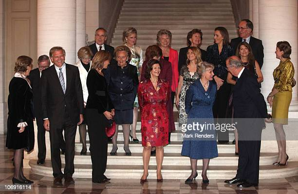 Queen Paola of Belgium Belgian Justice Minister Stefaan De Clerck Her Royal Highness Infanta Christina of Spain Her Royal Highness the Duchess of...