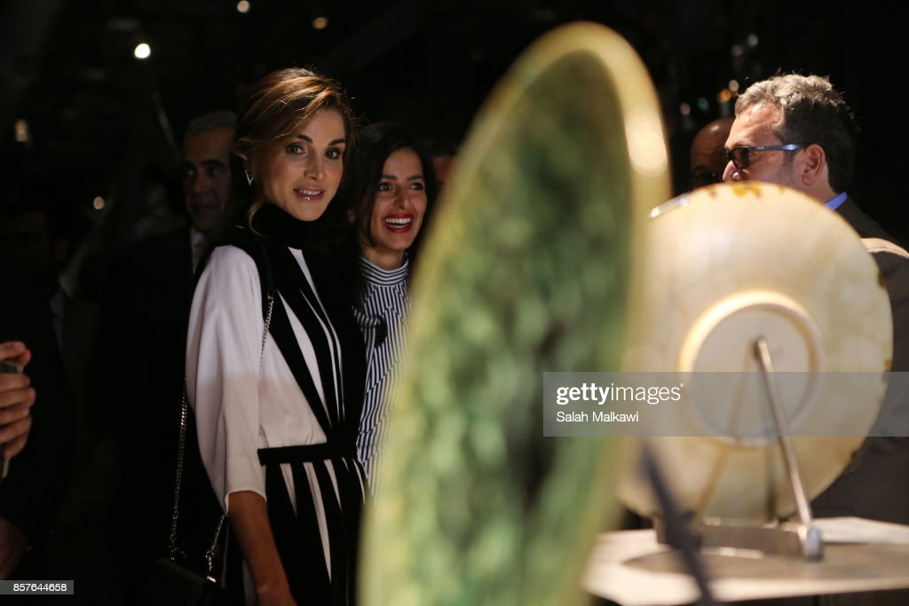 Queen Rania Opens Amman Design Week