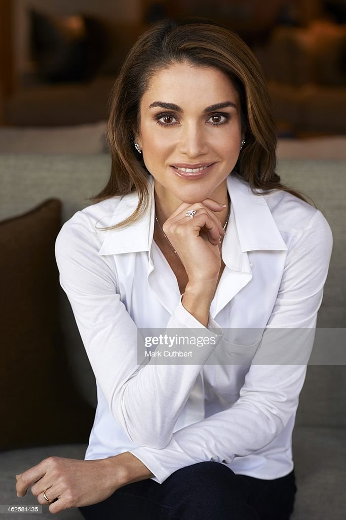 Queen Rania of Jordan pictured in this undated photograph supplied by The Royal Hashemite Court.