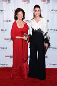 Queen Silvia of Sweden and Queen Rania of Jordan attend World Childhood Foundation USA ThankYou Gala 2015 on September 24 2015 in New York City