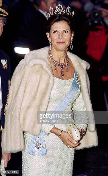Queen Silvia Of Sweden Attends Queen Margrethe Ii Of Denmark'S 60Th Birthday Celebrations In CopenhagenGala Performance At The Royal Theatre