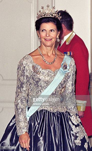 Queen Silvia Of Sweden Attends Queen Margrethe Ii Of Denmark'S 60Th Birthday Celebrations In CopenhagenGala At Christiansborg Palace