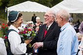 Queen Silvia of Sweden Attends Pensioners Day