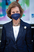 Queen Sofia Attends Sculpture And Painting Competition