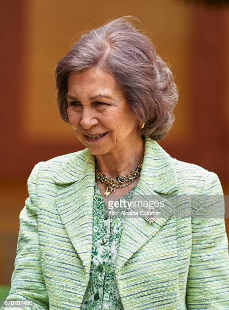 Queen Sofia attends the 25th Anniversary Tribute Of 'Seville Universal Exhibition' on April 20 2017 in Seville Spain
