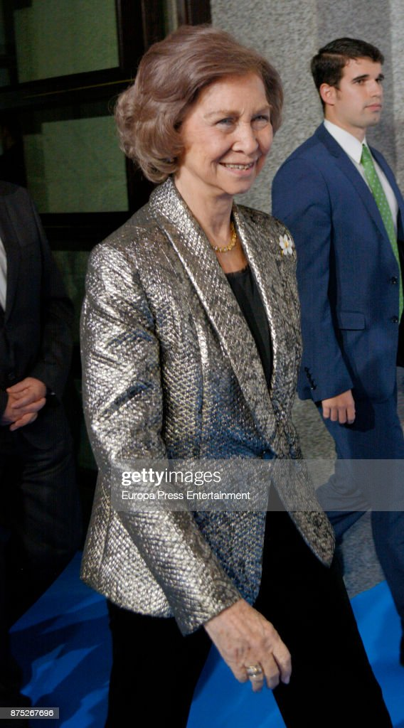 Queen Sofia Attends 32nd Edition Of BMW Painting Award