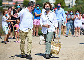 Queen Sofia Joins An Environmental Campaign During...
