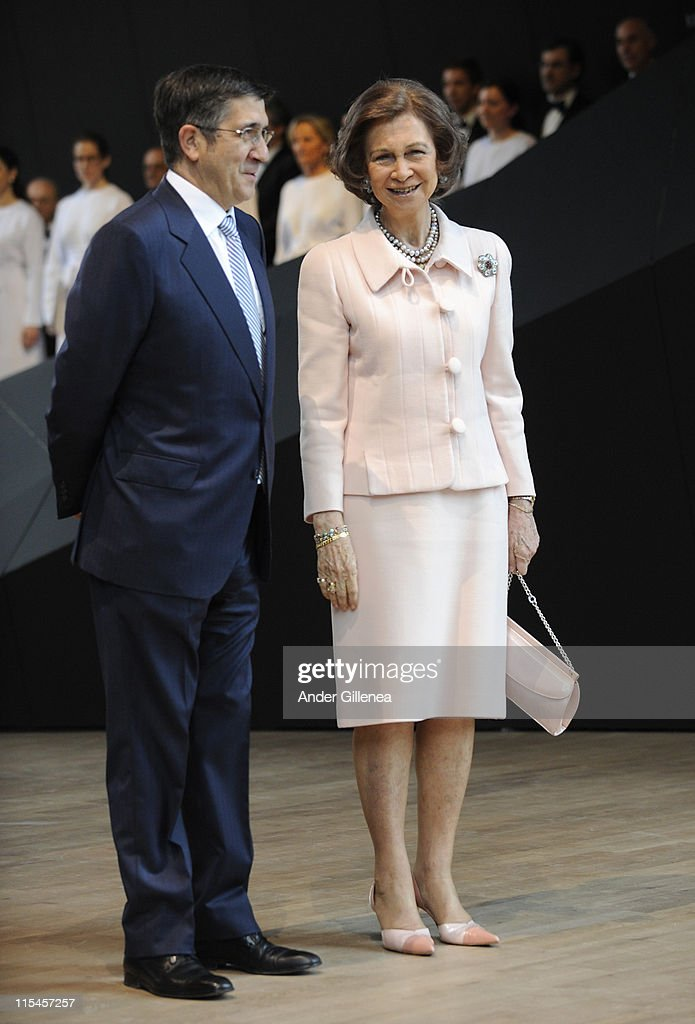 Queen Sofia of Spain Attends 'Balenciaga' Museum Opening in Getaria