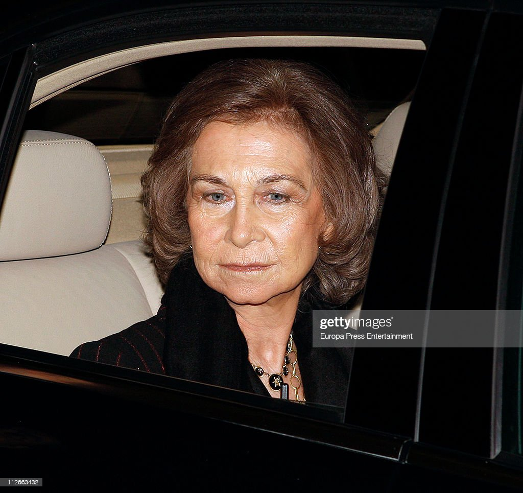 Queen Sofia of Spain attends a charity concert to raise funds for 'Proyecto Hombre Baleares' organised by Rotary Club Palma Ramon Llull on April 19, 2011 in Palma de Mallorca, Spain.