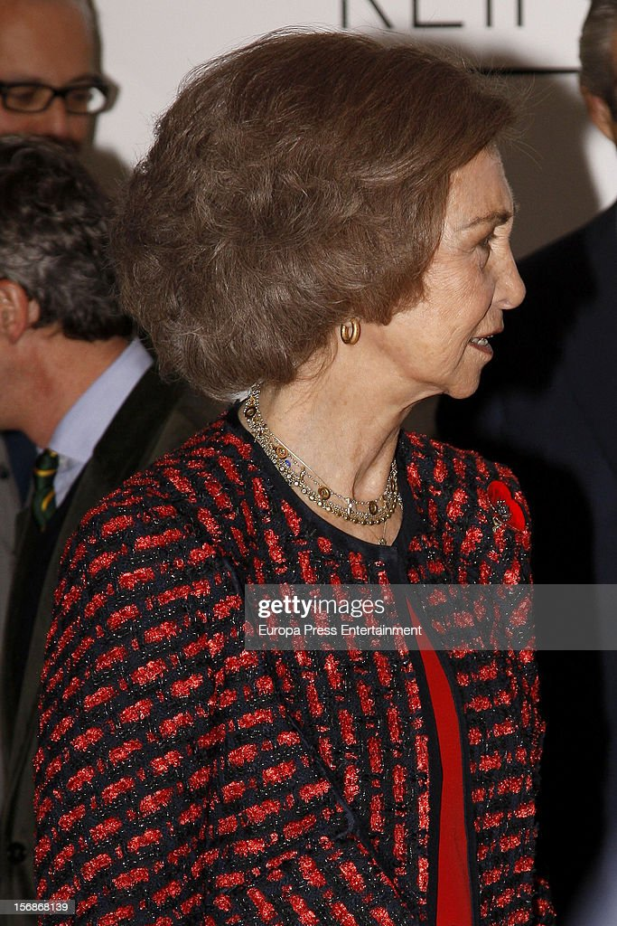 <a gi-track='captionPersonalityLinkClicked' href=/galleries/search?phrase=Queen+Sofia+of+Spain&family=editorial&specificpeople=160333 ng-click='$event.stopPropagation()'>Queen Sofia of Spain</a> meets Reina Sofia Museum Team on November 23, 2012 in Madrid, Spain.