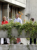 Queen Sofia of Spain Princess Cristina of Spain L and Inaki Urdangarin are seen on June 23 2014 in Geneva Switzerland