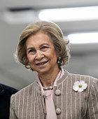 Queen Sofia Attends International Congress Of Alzheimer