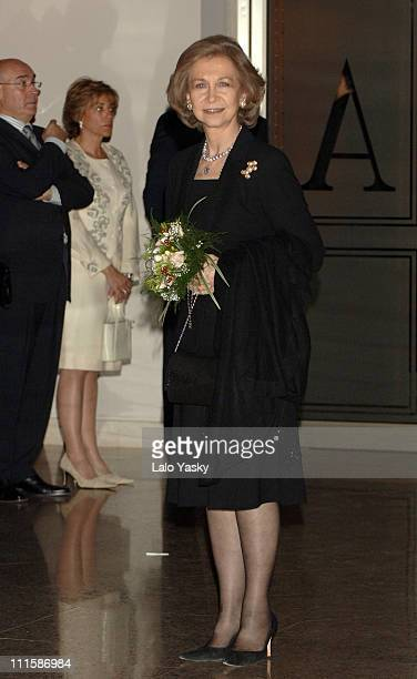 Queen Sofia On the eve of the second anniversary of the Madrid train bombings March 10 the 'MadridLondon In Memorian' Concert