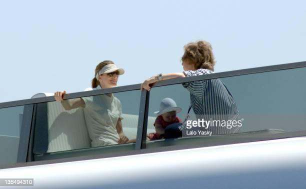 Queen Sofia Princess Letizia and her daughter Leonor