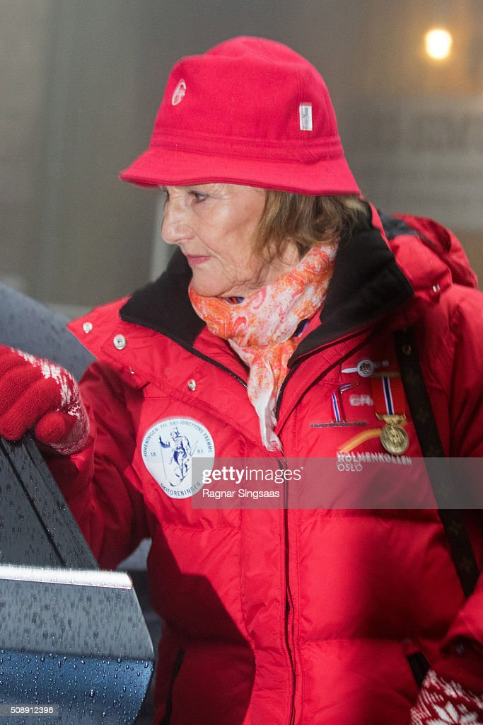 <a gi-track='captionPersonalityLinkClicked' href=/galleries/search?phrase=Queen+Sonja+of+Norway&family=editorial&specificpeople=160334 ng-click='$event.stopPropagation()'>Queen Sonja of Norway</a> attends Holmenkollen FIS World Cup Nordic on February 7, 2016 in Oslo, Norway.