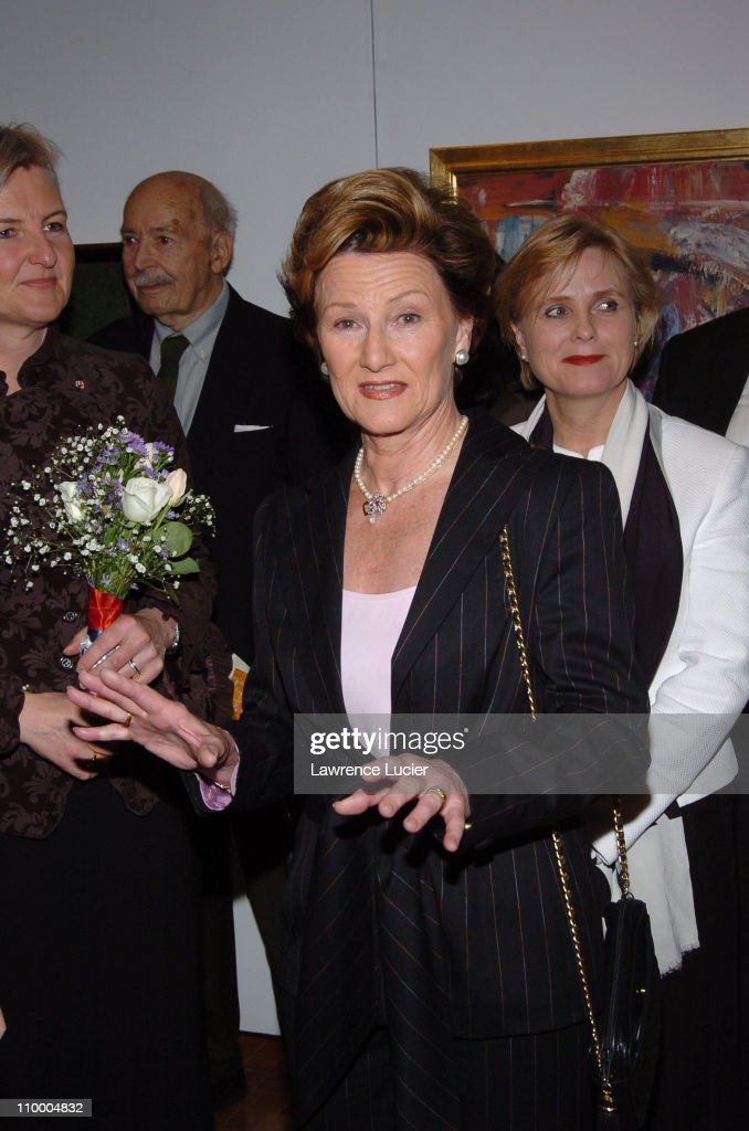 HM Queen Sonja of Norway during The King and Queen of Norway Open
