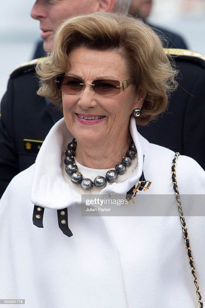 <a gi-track='captionPersonalityLinkClicked' href=/galleries/search?phrase=Queen+Sonja+of+Norway&family=editorial&specificpeople=160334 ng-click='$event.stopPropagation()'>Queen Sonja of Norway</a>, on a visit to Stavanger, during the King and Queen of Norway's Silver Jubilee Tour, on June 27, 2016 in Stavanger, Norway.