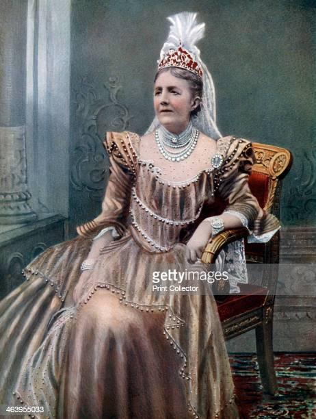 Queen Sophia of Sweden late 19thearly 20th century Portrait of Sophia Wilhelmine Mariane of Nassau