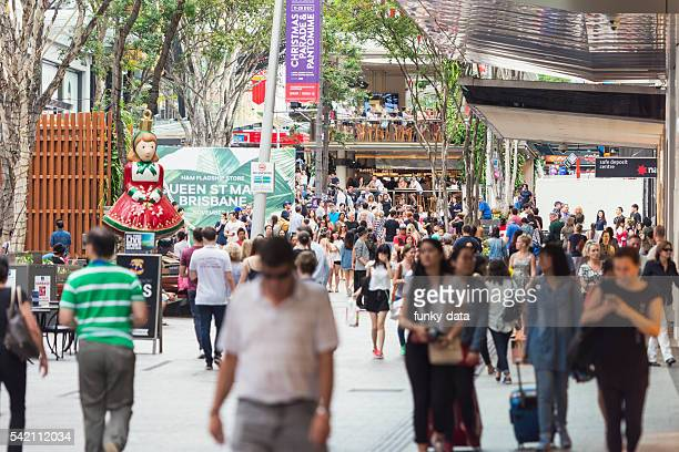 Queen Street in Brisbane Australia