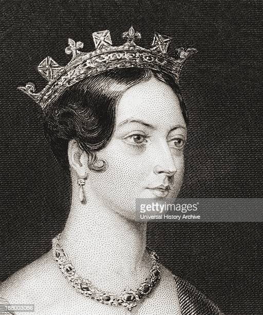 Queen Victoria 1819 – 1901 Queen Of The United Kingdom Of Great Britain And Ireland From The History Of England Published 1859