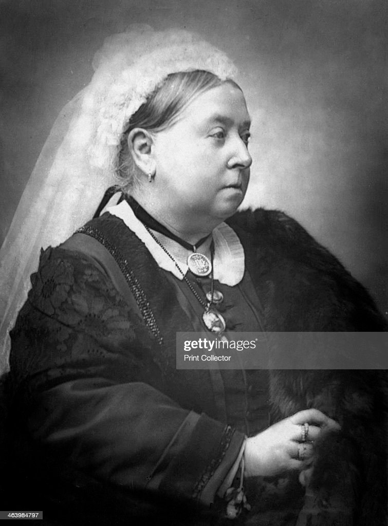 Queen Victoria 1900 Queen of the United Kingdom Great Britain Ireland from 18371901 Illustration from The Life and Times of Queen Victoria by Robert...