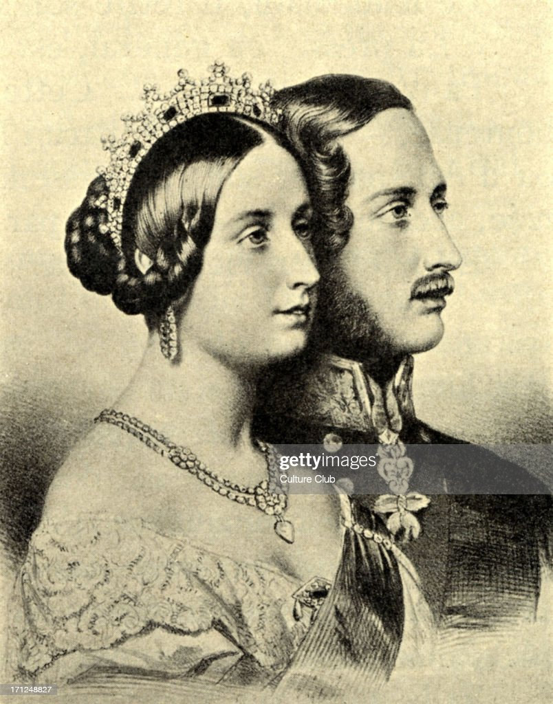 175 years since queen victoria married prince albert getty images. Black Bedroom Furniture Sets. Home Design Ideas