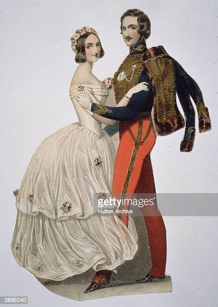 Queen Victoria and Prince Albert take to the dance floor