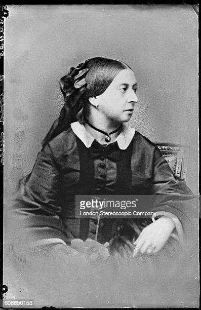 Queen Victoria circa 1860 By French photographer Antoine Claudet