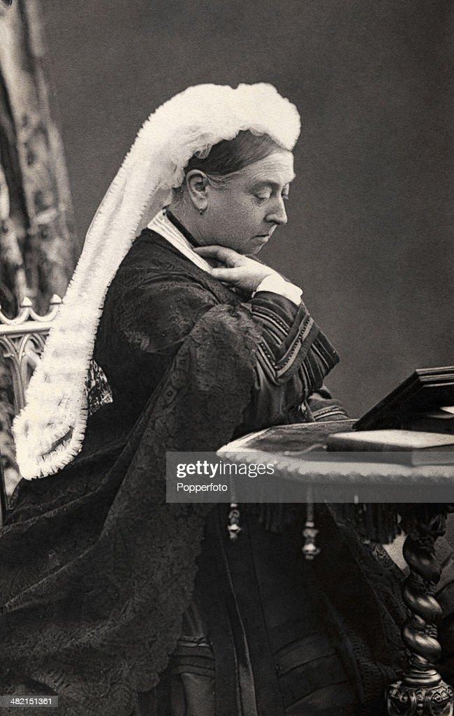 HRH Queen Victoria circa 1865
