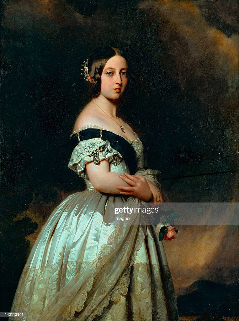 Queen Victoria of England 1842 Musee National du Chateau Versailles France