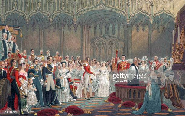 Queen Victoria of England Her Majesty 's wedding to Prince Albert in 1840 24 May 1819 – 22 January 1901 Marriage