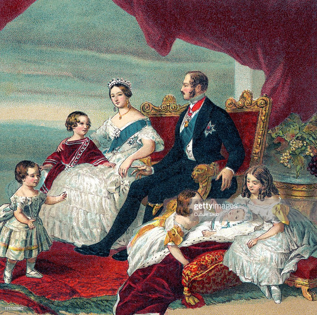 Queen Victoria of England portrait of Her Majesty 's royal family in 1846 24 May 1819 – 22 January 1901