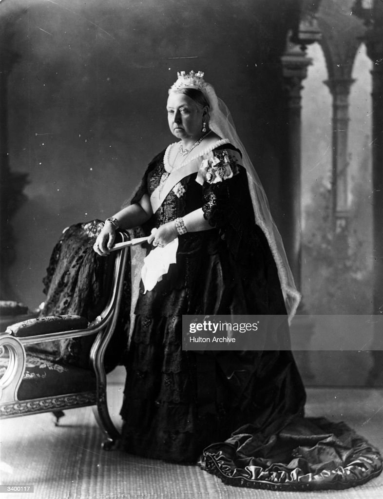 Queen Victoria of Great Britain (1819 - 1901).