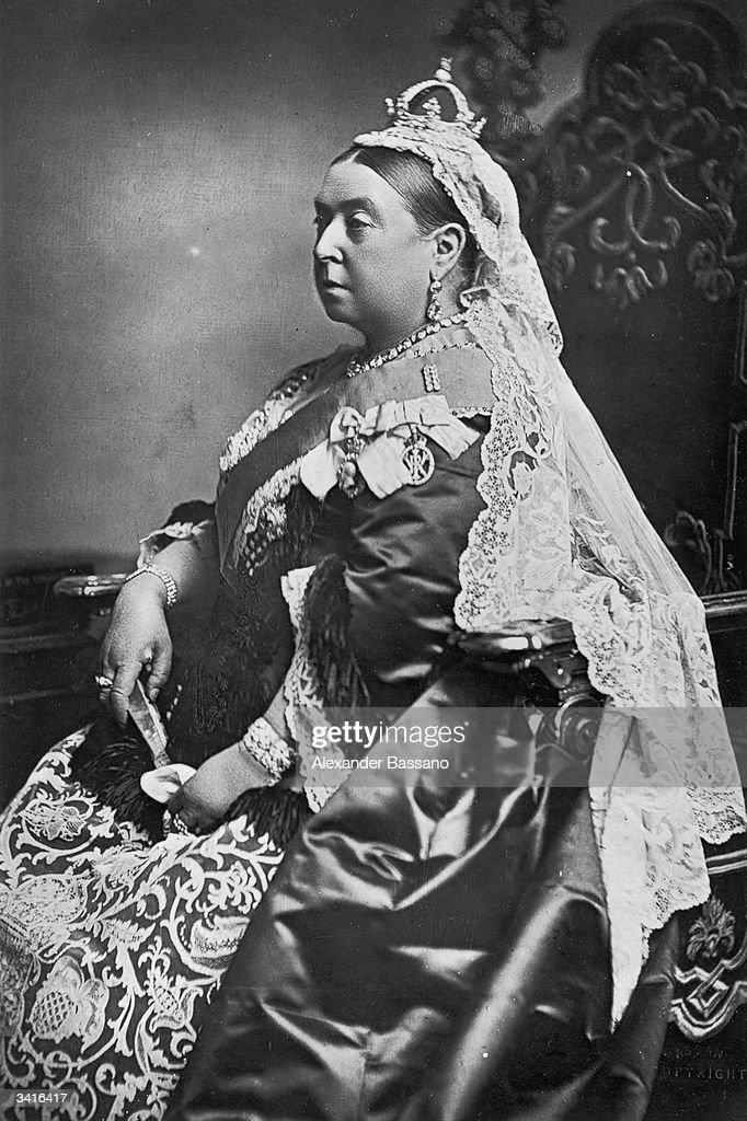 Queen Victoria of Great Britain (1819 - 1901).