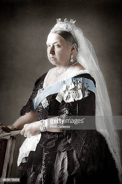 Queen Victoria of the United Kingdom c1890 Victoria became Queen in 1837 and Empress of India in 1877