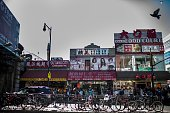Queens Chinese Golden Mall in Flushing Queens New York Sunday September 20 2015