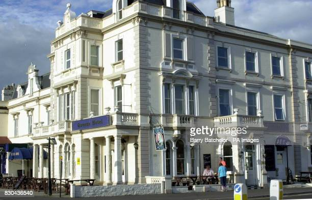 Queens Hotel in Burnham Somerset Jackie Richards the Conservative Mayor of Burnham and Highbridge in Somerset thanked fellow councillors at a council...