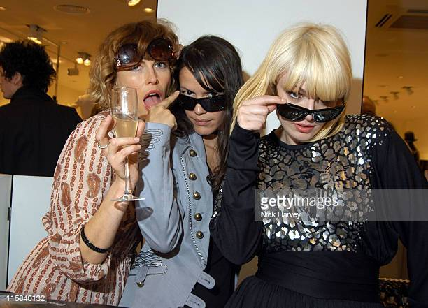Queens of Noiz during HM Flagship Store Launch Inside at HM Knightsbridge in London Great Britain