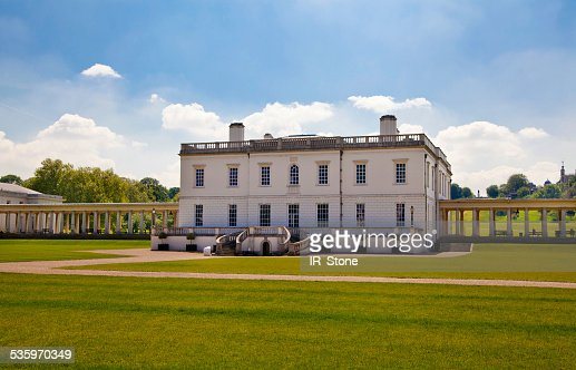 Queen's palace in Greenwich. London : Stock Photo