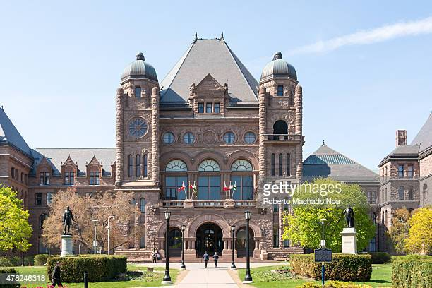 Queen's Park building seat of the Ontario Provincial Government The Ontario Legislative Building which houses the viceregal suite of the Lieutenant...