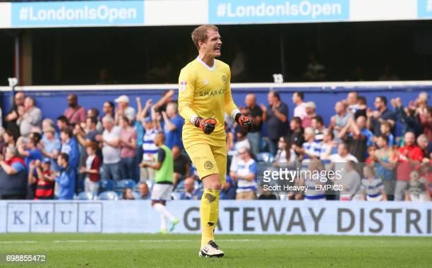 Queens Park Ranger goalkeeper Alex Smithies