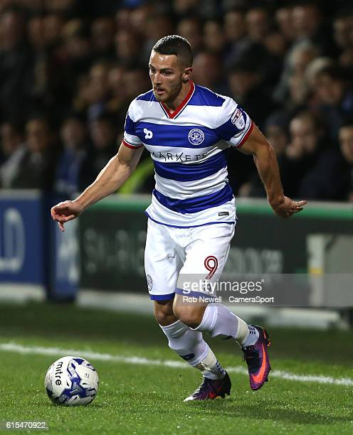 Queens Park Rangers' Conor Washington during the Sky Bet Championship match between Queens Park Rangers and Bristol City at Loftus Road on October 18...