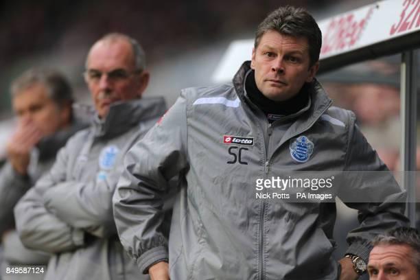 Queens Park Rangers first team coach Steve Cotterill