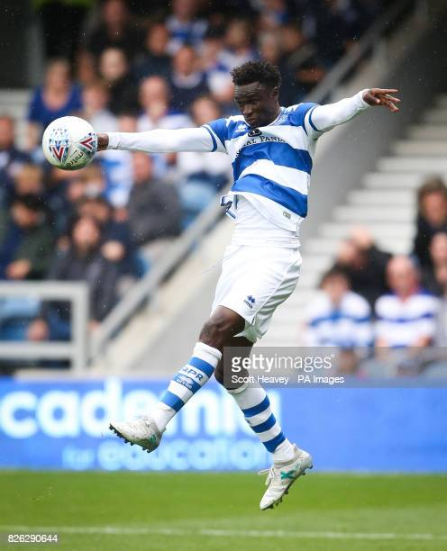 Queens Park Rangers' Idrissa Sylla during the preseason match at the Vitality Stadium Bournemouth PRESS ASSOCIATION Photo Picture date Sunday July 30...