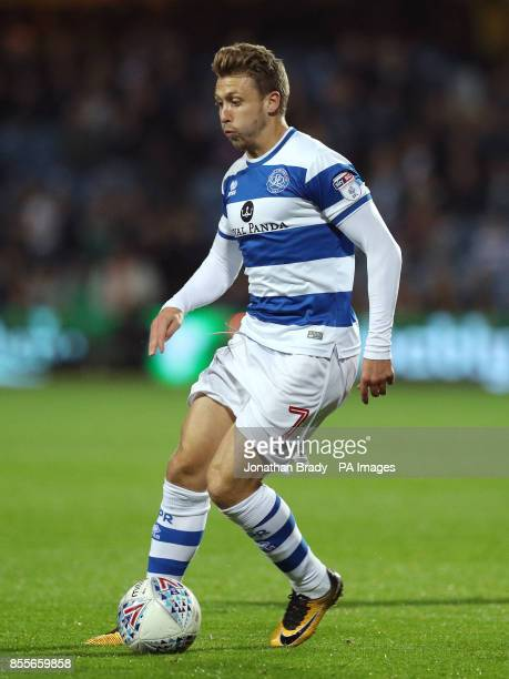 Queens Park Rangers' Luke Freeman during the Sky Bet Championship match at Loftus Road London