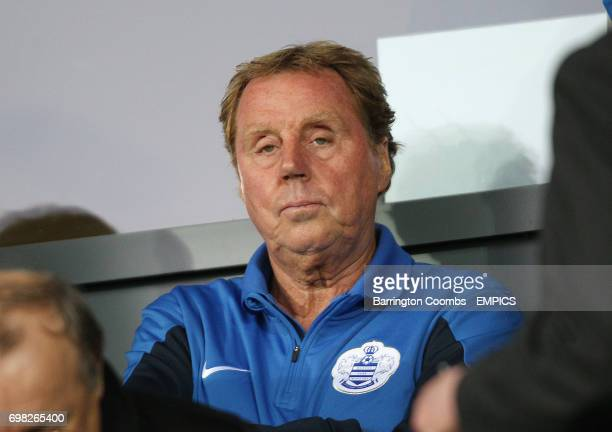 Queens Park Rangers' manager Harry Redknapp during the game against Burton Albion