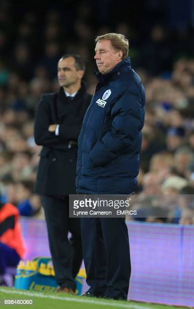 Queens Park Rangers manager Harry Redknapp looks on in frustration