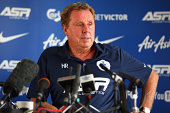 Queens Park Rangers Manager Harry Redknapp speaks to the press during a Queens Park Rangers Training Session and Press Conference on August 14 2014...
